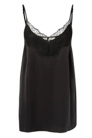 Blend Strap Singlet With Lace