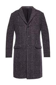 'Bendall' coat with notch lapels