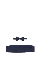 Ermenegildo  Cummerbund and bow tie kit silk Z6D66 0SA E