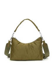 Edith Green Quilt Unlimit Shoulder Bag