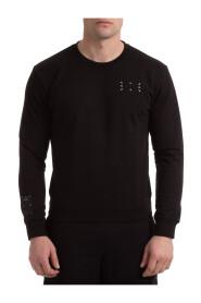 sweter z okrągłym dekoltem