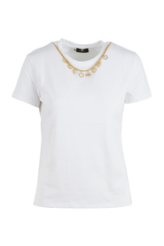 T-shirt with removable charm