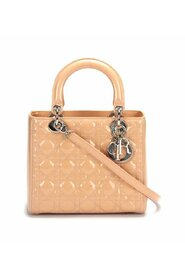 brukt Cannage Patent Leather Lady Dior