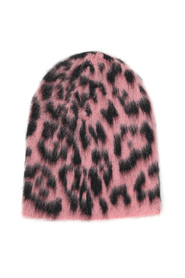 animal pattern beanie