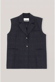 Suiting Oversized Vest