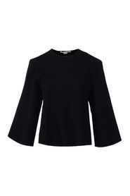 Sweater with Cutout Sleeve