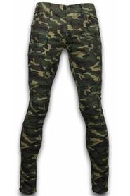 Exclusive Ripped Camo Jeans