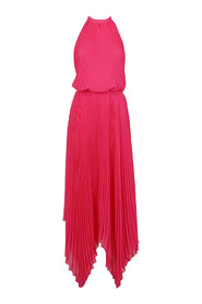 Long dress with america neckline