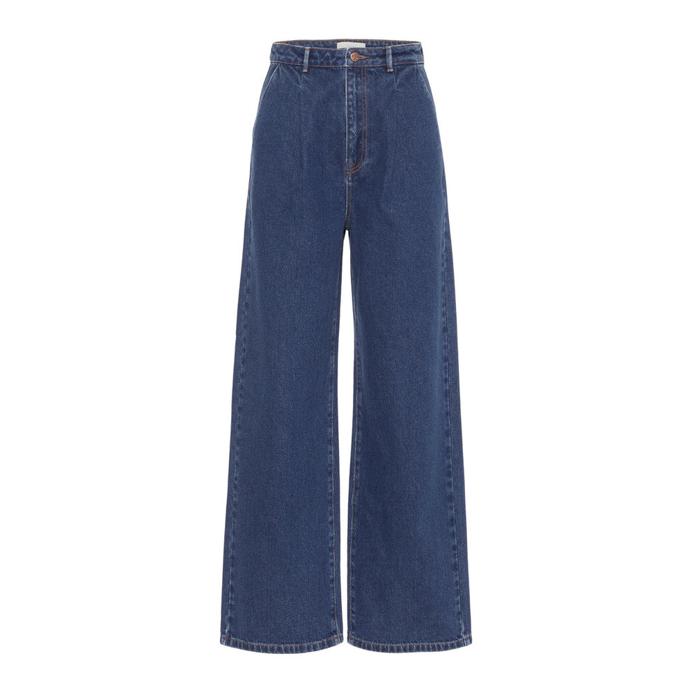 Jeans Wide-Legged Darted