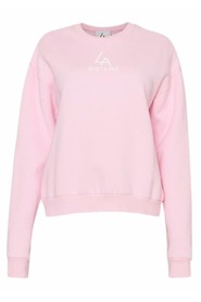 LASisters pink oversized sweater