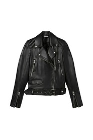 Janey leather biker jacket