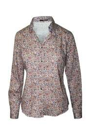 Floral Printed Shirt Pre Owned Condition Very Good