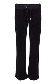 Juicy Couture J Bling DR Velour Pant Marin blå
