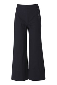 Culottes with buttons