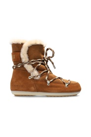 'Dark Side High Shearling' snow boots