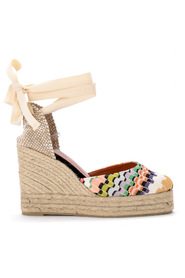 by Missoni Carina sandal with wedge.