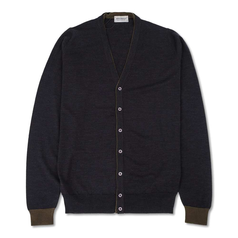 BACK Well Tipped Cardigan LS