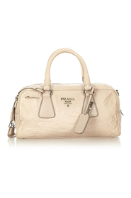 Pre-owned Satchel Leather