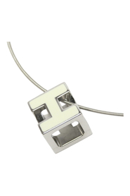 Pre-owned Cage dH Cube Necklace