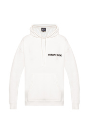 Printed insulated hoodie
