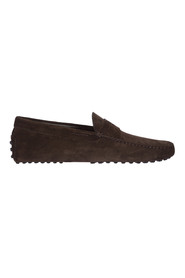 Suede loafers moccasins gommini
