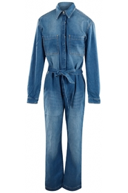 Aliya denim jumpsuit