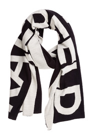 women's wool scarf k/karl