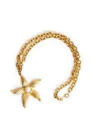 Naszyjnik z gwiazdami morskimi w kolorze złotym