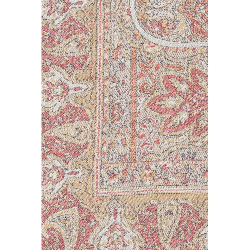 Beige Patterned scarf with fringes | Etro | Sjaals | Heren accessoires