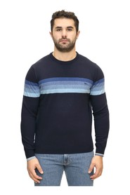 Crewneck with Stripes