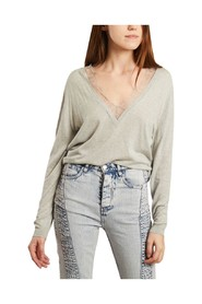 Jayden cotton and silk sweater