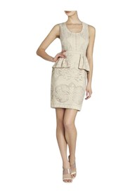 Etna Lace Peplum Sheath Dress FSO63A15-O2F