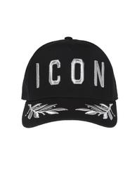 Embroidered lettering baseball cap
