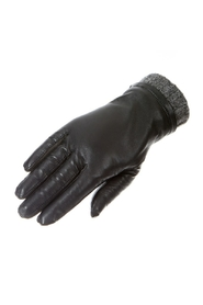Dessie lady glove w / string feather