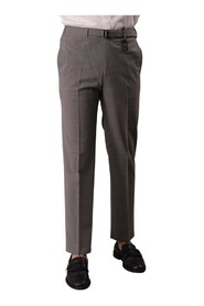 TROUSERS WITH COULISSE AND ELASTIC WAIST