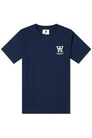 Ace Small Logo Tee Navy-L