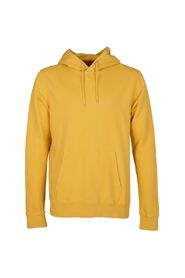 Gul Colorful Standard X Modo Hoodie Sweatshirt Strikk