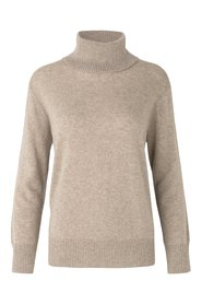 Uld/cashmere rullekrave AW/20 atmosphere mel.