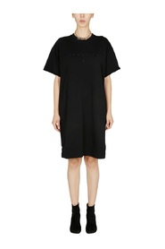 DRESS WITH EMBROIDERED LOGO