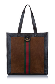 Large Ophidia Suede Tote Bag