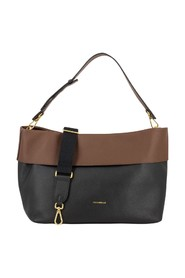 Horizontal leather bag 25
