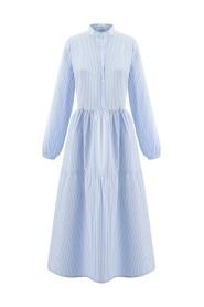 Med Striper Noella Lipe Long Dress