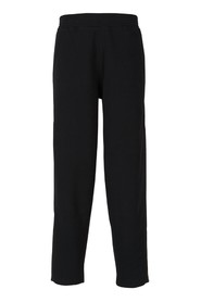 Joggers with logo strip