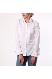 Stenströms feminine shirt with pleated cuffs