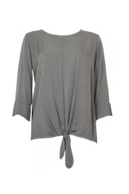 20to Blouse met strik detail Groen