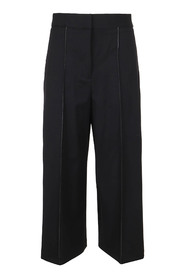 Wool Suiting Culottes