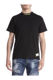 SHORT SLEEVE T-SHIRT WITH EMBROIDERED LOGO