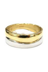 Two Tone Love Me Ring
