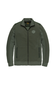 ZIP JACKET STRUCTURE SWEAT