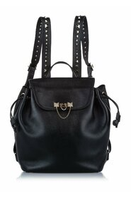 Pre-owned Leather Backpack Bag